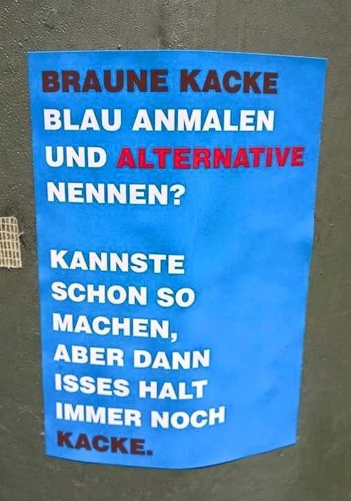 Kotzendes Einhorn_AfD